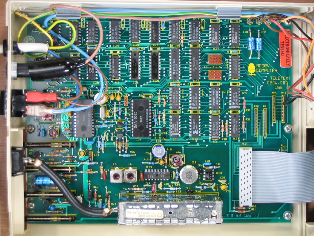 Pictures Of Bbc Computer Related Stuff Serial Mouse Wiring Diagram Adapters For The Acorn Teletext Adapter Thanks To John Kortink These Photos
